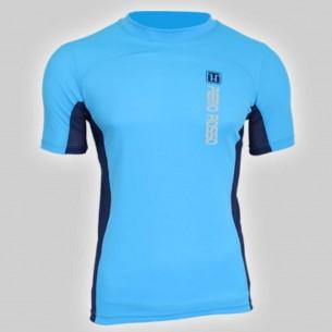 Vetements- Aviron-T-shirt MC-NY-Bleu-RemoRosso-Aviron