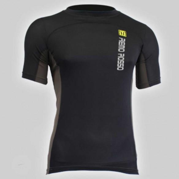 Abbigliamento-canottaggio-T-Shirt-NY-Nero-RemoRosso-Canottaggio